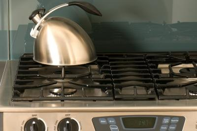 efficiency of heating water on stove vs an electric tea kettle livestrong com. Black Bedroom Furniture Sets. Home Design Ideas