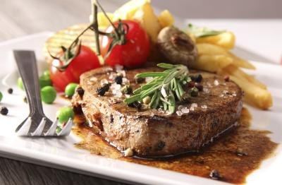 Red meat is not only rich in zinc but also protein.