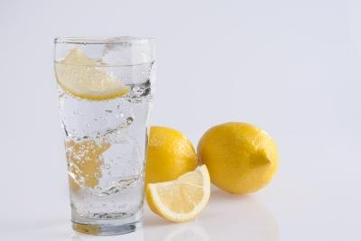 Add lemon to your water.