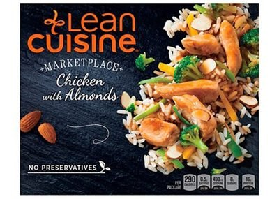 Lean Cuisine Marketplace Chicken with Almonds is a healthy choice.