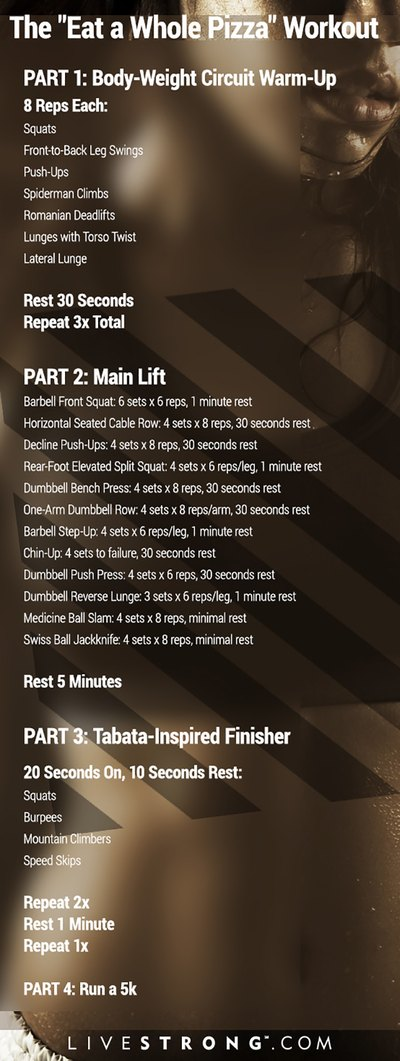 This workout isn't for the faint of heart. It'll kick your butt!