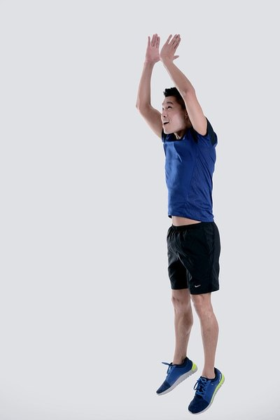 Jumping jacks provide a fantastic indoor cardio workout.