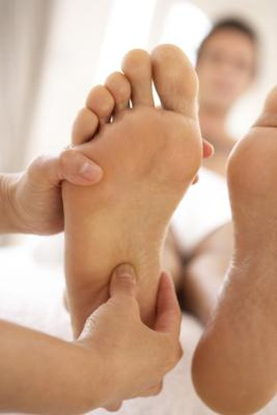 Of nerve pain foot bottom