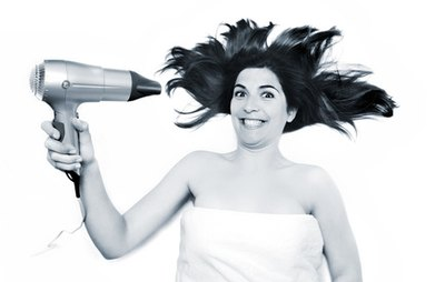 Repeated use of hair dryers damage hair