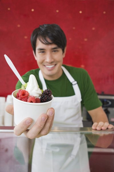 Calories in Fat-Free, Sugar-Free Frozen Yogurt