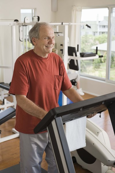 Treadmill Exercises for a Man Over 60