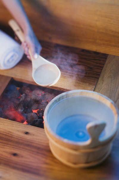 Saunas improve circulation.