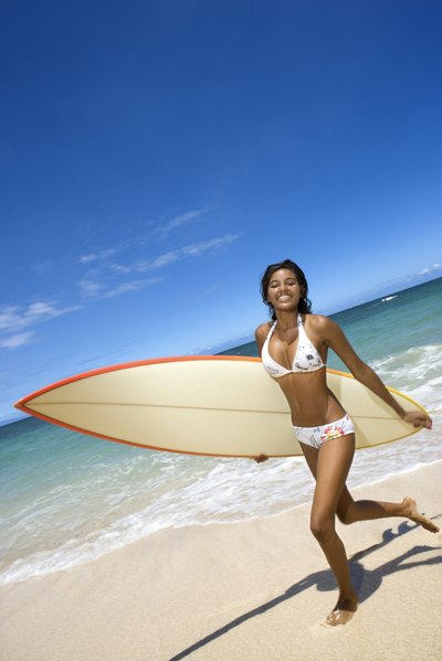 Surfing can improve your mood and prevent depression and stress.