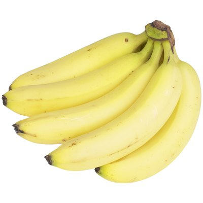Bananas are starchy.