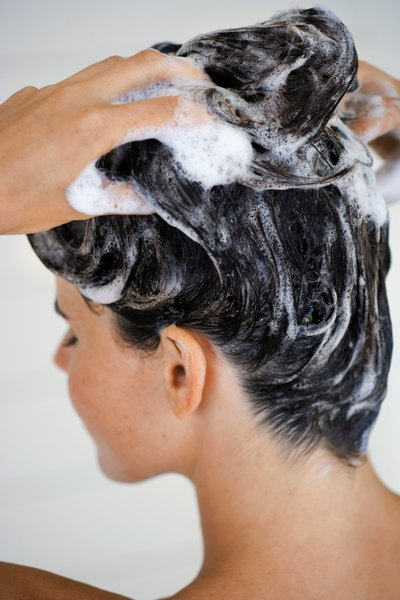 Over-shampooing can make hair puffy.