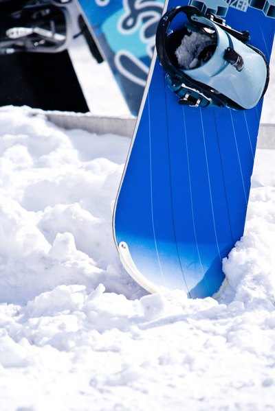 Resurfacing the Top of a Snowboard