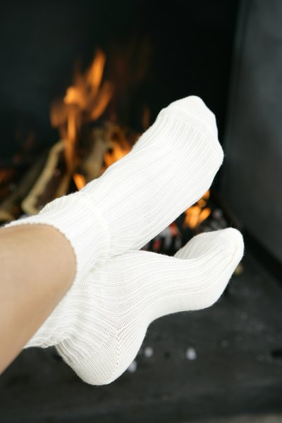 How to Keep Your Socks White
