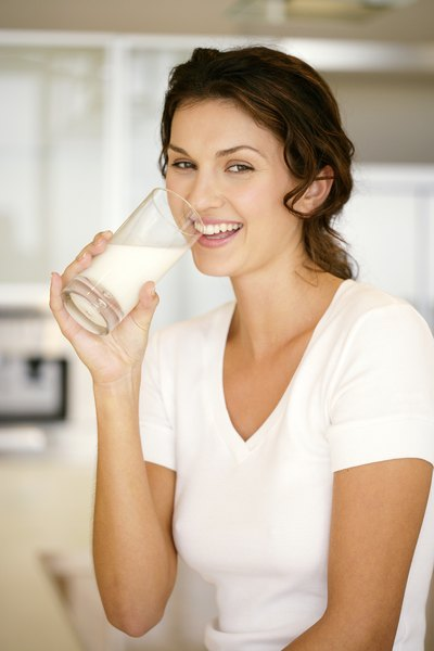Drink milk to reduce fat absorption.