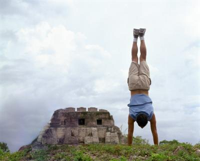 Hold your handstand for as long as possible.