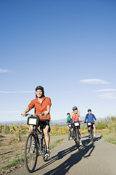 Social riders benefit from muscular endurance workouts.