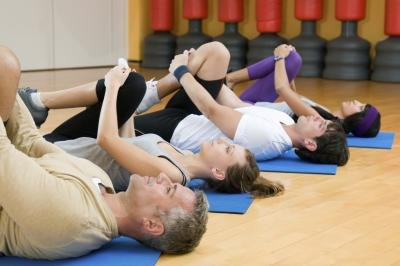 Start with basic Pilates mat work to learn body positioning.