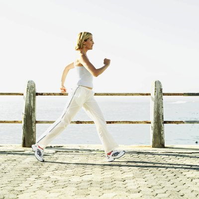Start slowly with low-impact, calorie-burning exercises such as swimming, cycling, walking and the elliptical machine.