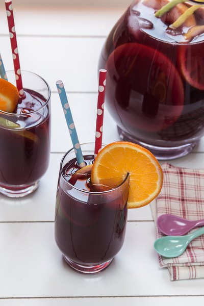 Nutritional Values of Red Wine Sangria
