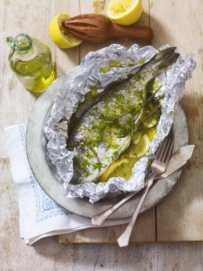 How to reheat cooked fish livestrong com for Cooking fish in foil