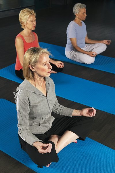 Meditation makes up a proportion of Body Balance classes.