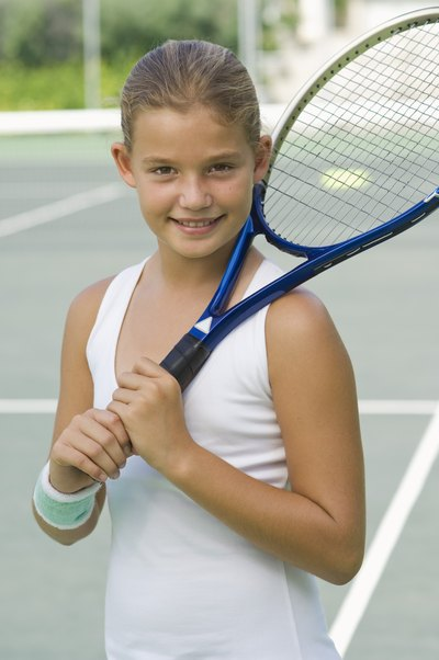 Oversized rackets have a head size of at least 105 square inches.