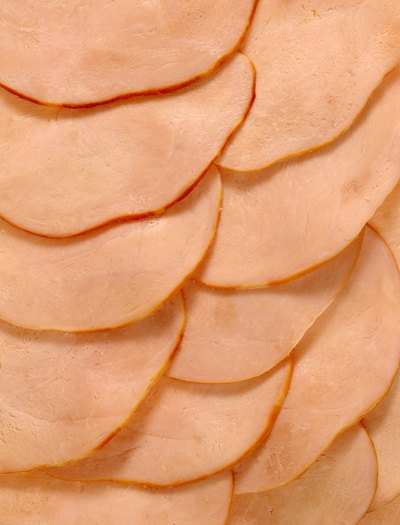Sixty-five percent of the calories in turkey breast come from protein.
