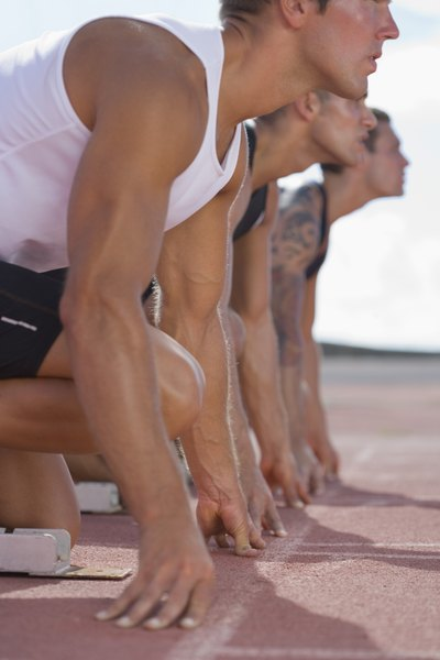 Anaerobic exercises, such as sprinting, are a great way to burn calories.