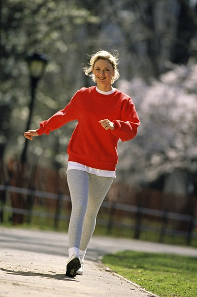 Walking is part of your regular gait -- allow your arms to swing naturally.