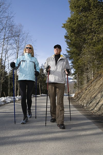 Comparison of Exerstrider and Nordic Walking