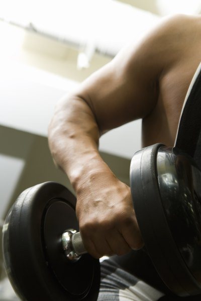 Whey protein may encourage muscle gain in conjunction with exercise.