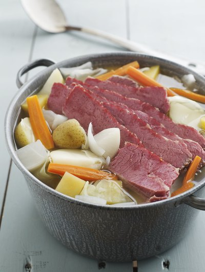 Corned Beef & Cabbage Nutrition Facts