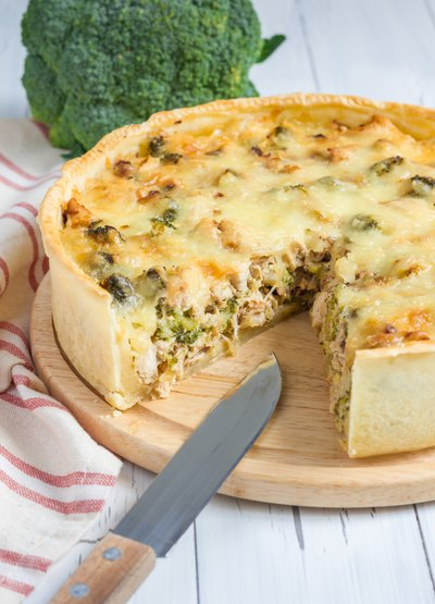Low-Fat Breakfast Quiche