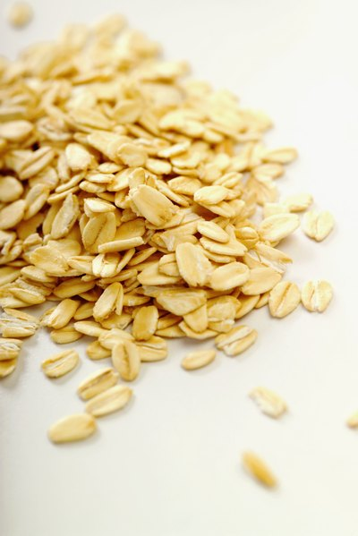Oats moisturize by adding lipids to the skin.