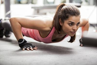 Many trainers consider push-ups one of the best all-around exercises.