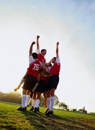 Team sports help teens develop social skills.
