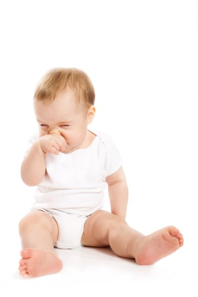 Coughing and Stomach Flu in Infants