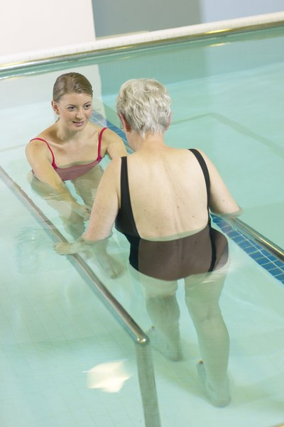 Aquatic exercises are a gentle form of strengthening.