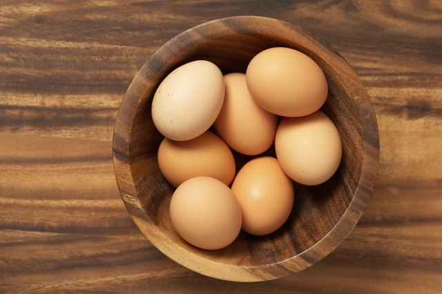If eggs are a part of your diet, they can be a good source of protein.