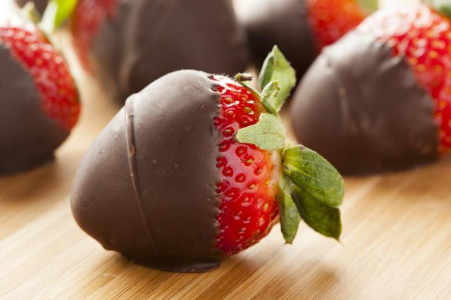 Calories In Chocolate Covered Strawberries Livestrong Com