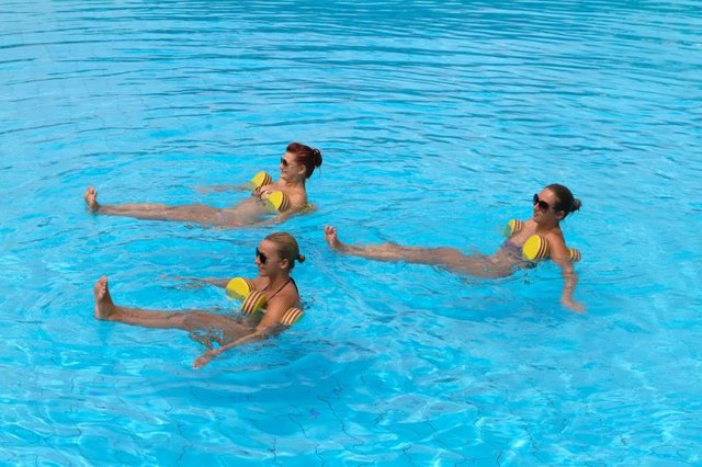 Deep Water Aerobic Routines Livestrong Com