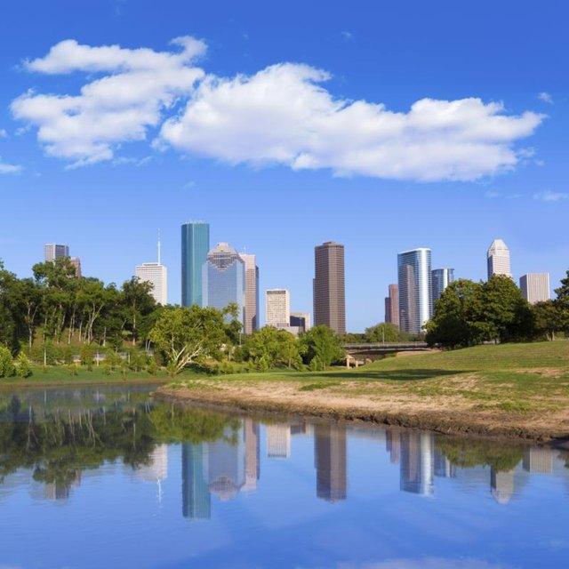 Lakes Near Houston, Texas