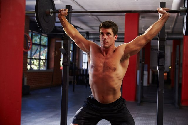 Make sure you don't neglect the smaller muscles around your shoulder joint.