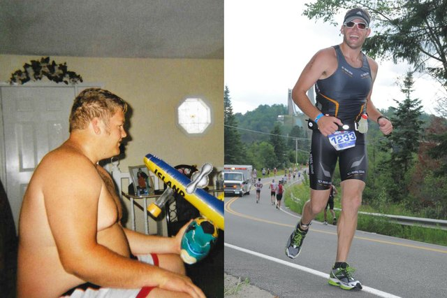 Dornan went from couch potato to Ironman!
