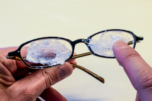 spread a thick layer of the baking soda paste over the entire front surface of the lenses not just the scratched areas polish the lenses using a - How To Polish Glass