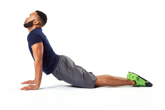 End your morning routine with this abdominal stretch.
