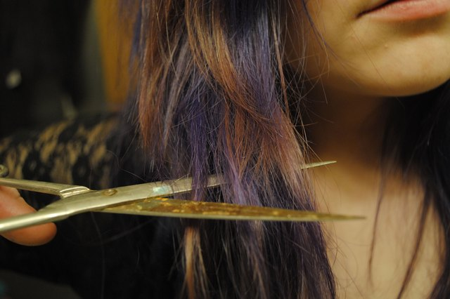 How to Treat Damaged Hair & Split Ends | LIVESTRONG.COM