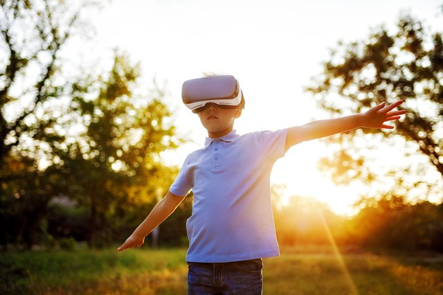 VR allows people to face their fears and practice coping strategies.