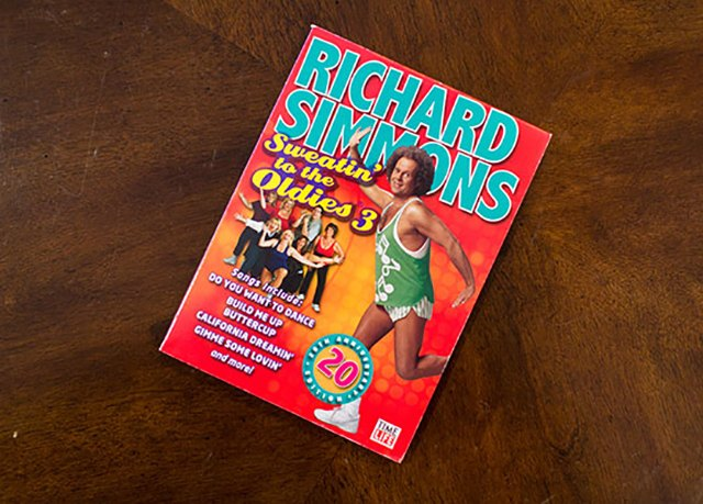 Bobby's favorite way to work out was Richard Simmons' workout DVD.