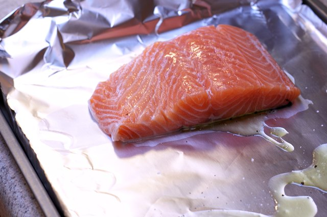 how to cook salmon in the oven from frozen