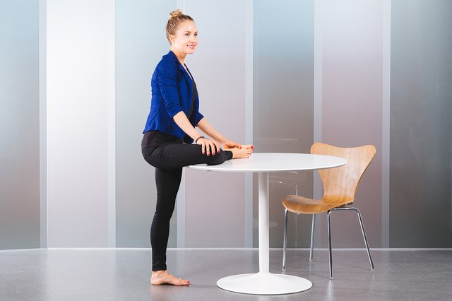 Use a table to help you stabilize and reach deeper into Single Pigeon.